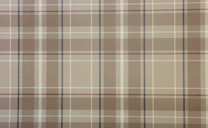 Fine Decor Caledonia Tan Tartan
