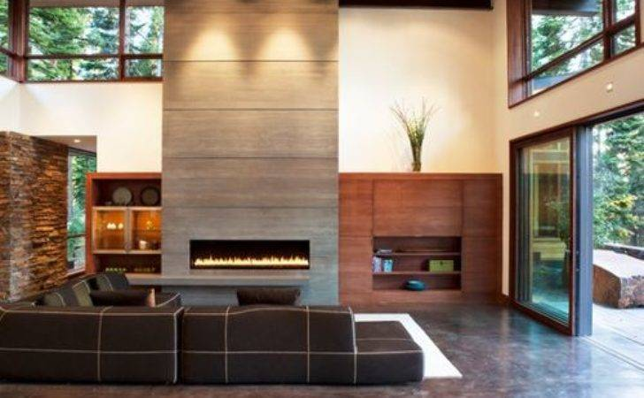 Fireplace Feature Wall Home Design Ideas Renovations Photos