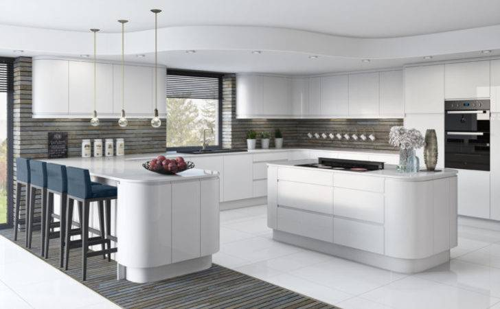 Fitted Kitchens White Gloss Lucente Starplan