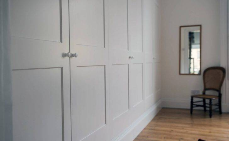 Fitted White Wardrobes Office Furniture