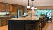Five Kitchen Island Seating Design Ideas Budget