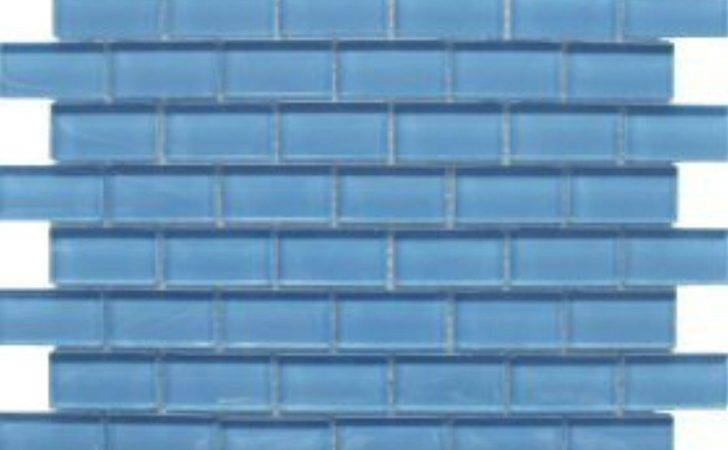 Fjord Blue Tile Glass Purple Brick