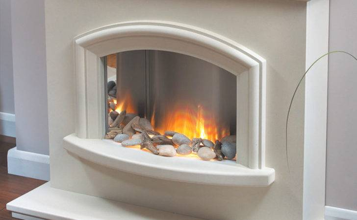 Flamerite Mercia Electric Fireplace Suite Flames
