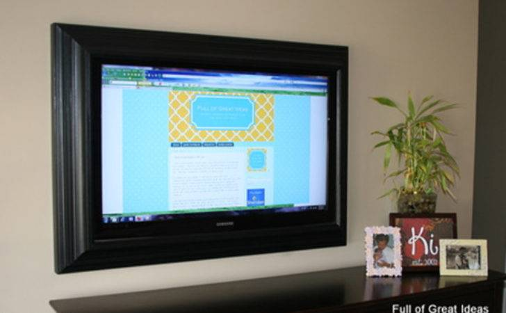 Flat Screen Frame Renovations Haven Home Business