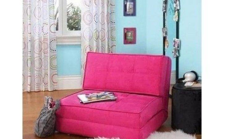 Flip Chair Sofa Teen Dorm Bed Room Lounger Couch Futon