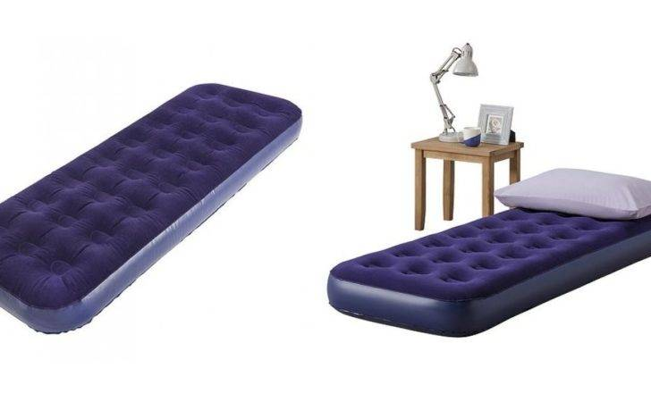 Flocked Single Air Bed Tesco Direct