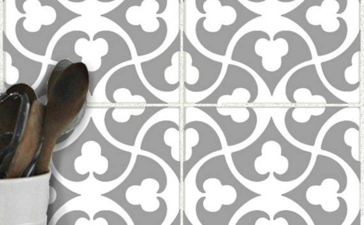 Floor Tile Stickers Removable
