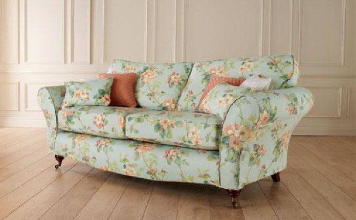 Floral Spring Blossoms Printed Sofa Sofamoe Info