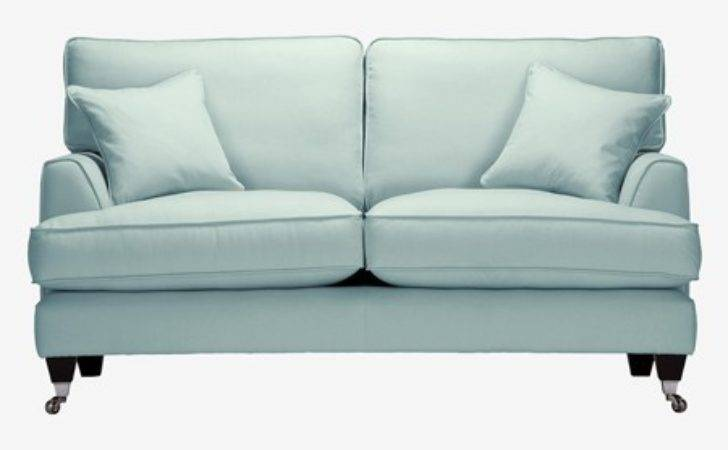 Florence Small Sofa House Brushed Cotton Duck Egg