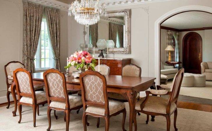 Florentine Dining Room Traditional