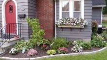 Flower Bed Designs Front House Landscaping