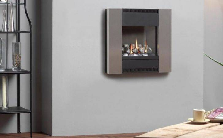 Flueless Gas Fire Burley Hole Wall