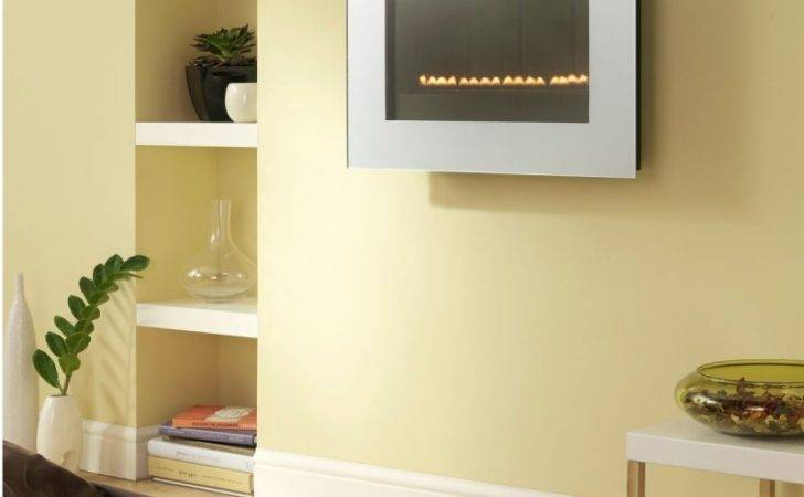 Flueless Gas Fire Tgc Wall Mounted