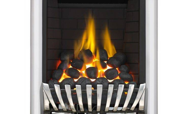 Focal Point Elegance Black Inset Gas Fire Suite