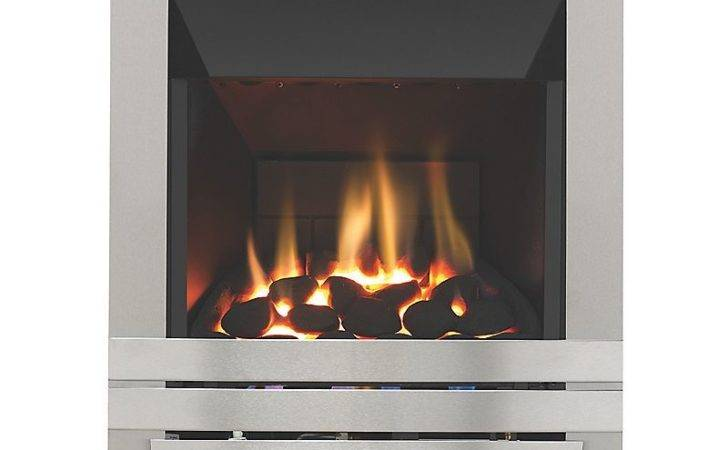 Focal Point Lulworth High Efficiency Gas Fire Stainless
