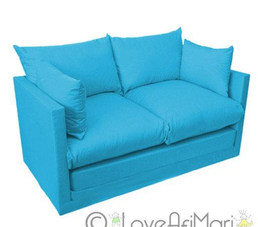 Fold Out Seater Kids Teens Sofa Sofabed Guest Bed Futon