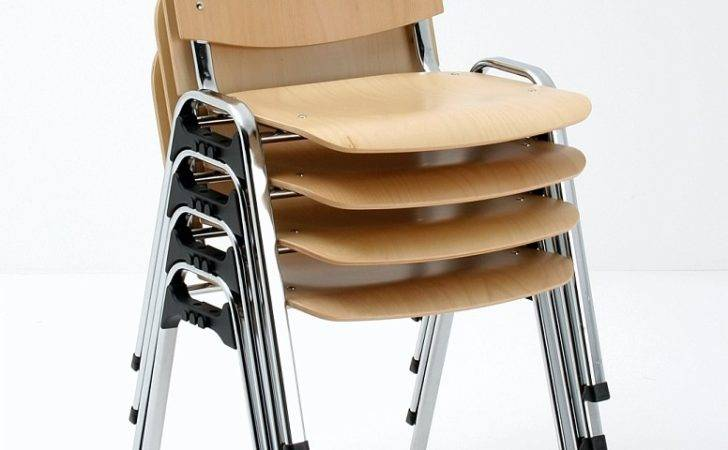 Folding Stacking Chairs Modern Office