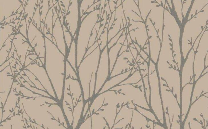 Foliage Tree Branches Metallic Copper Fine Decor Delamere