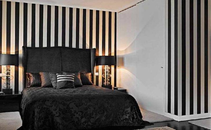 Formalbeauteous Striped Bedroom Wall Decor Adorable