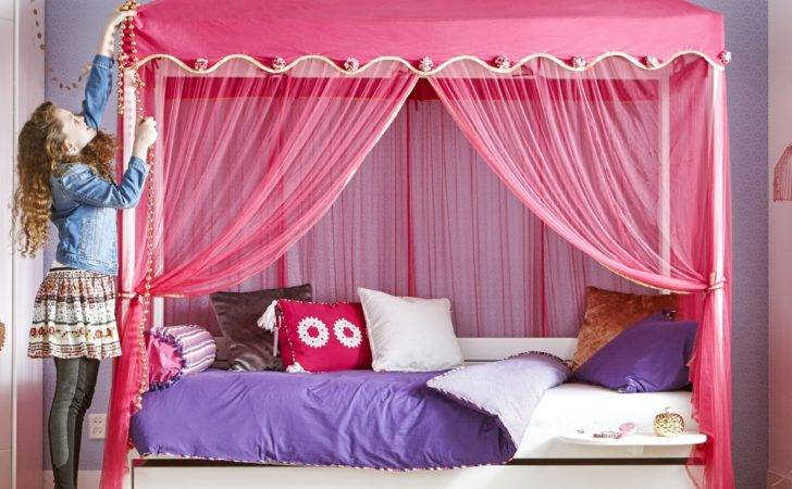 Four Poster Bed Nights Canopy Kids