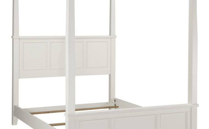 Four Poster Bed White