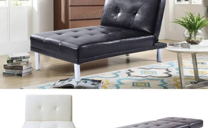 Foxhunter Chaise Longue Single Sofa Bed Seater Couch
