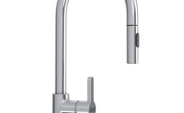 Franke Arena Pull Out Spray Kitchen Sink Mixer Tap Chrome