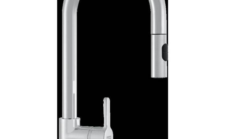 Franke Arena Pull Out Spray Silksteel Kitchen Tap