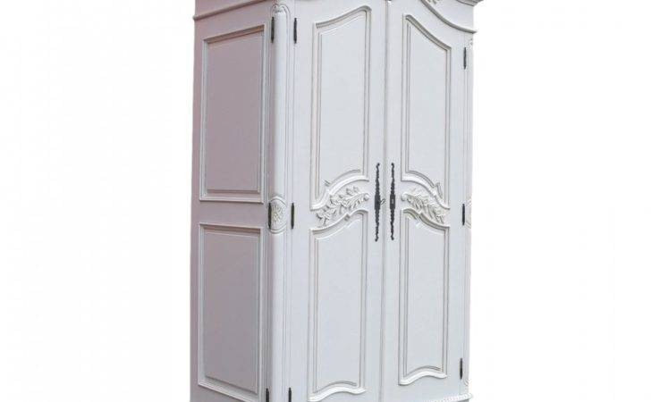 French Armoires Wardrobes Bedroom Furniture Double