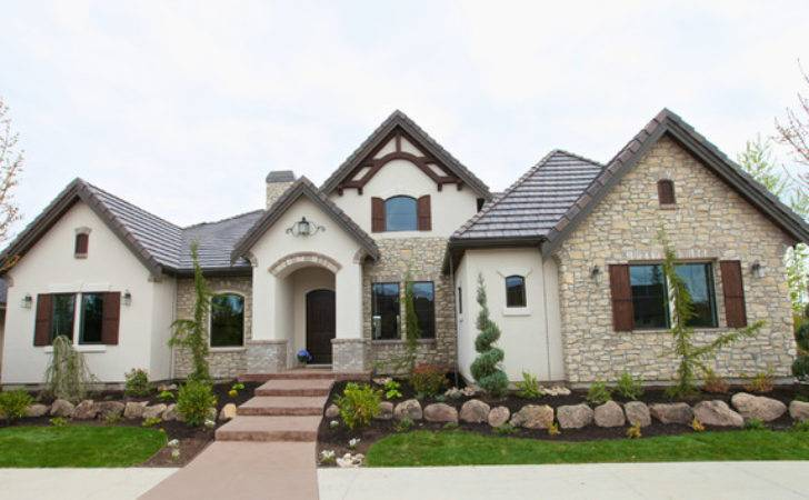 French Country Exterior Traditional Boise