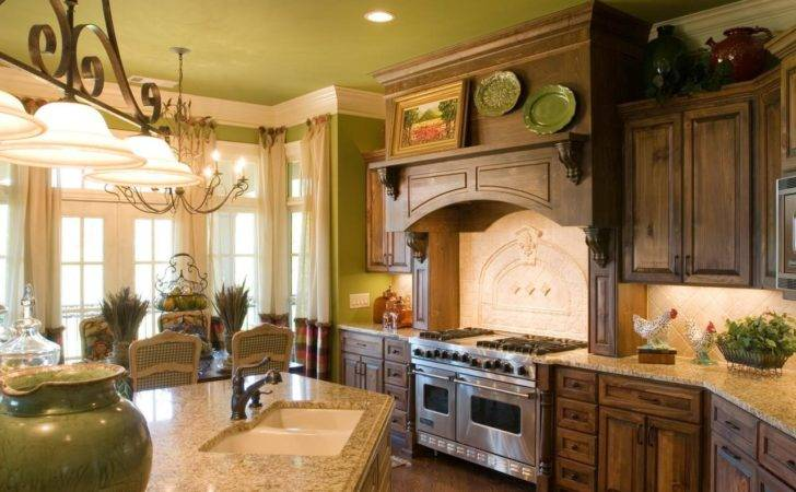 French Country Kitchen Cabinets Ideas
