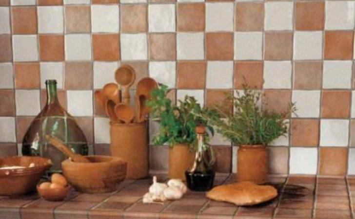 French Country Kitchen Wall Tiles Interior Design