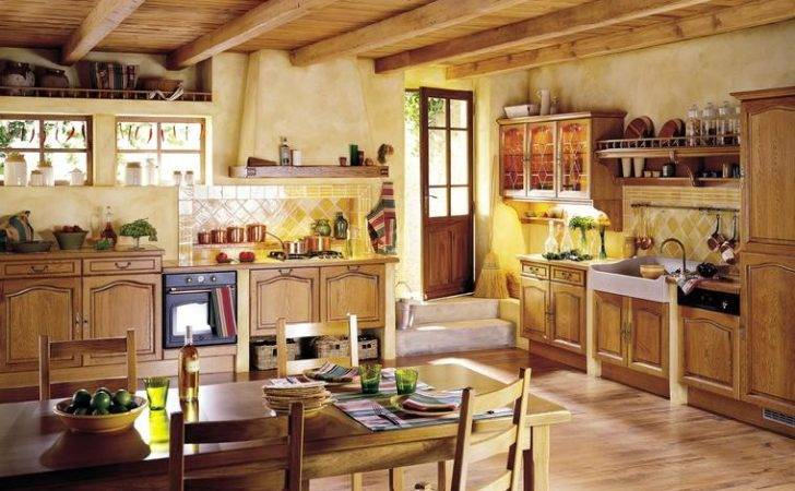 French Country Kitchens Desain Rumah