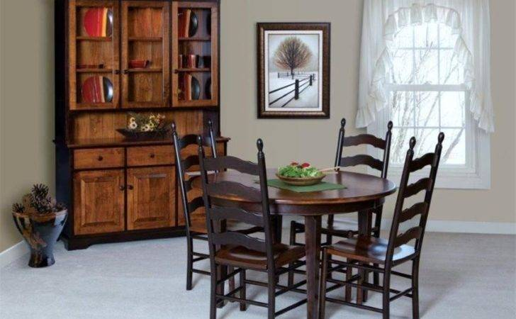 French Country Ladder Back Chair Amish Dining Chairs