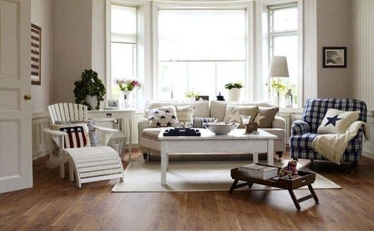French Country Living Room Custom Modern