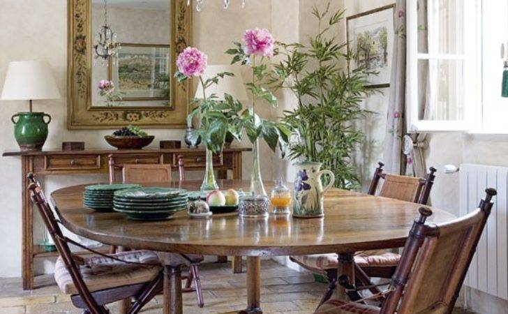 French Country Style Dining Room Ideas
