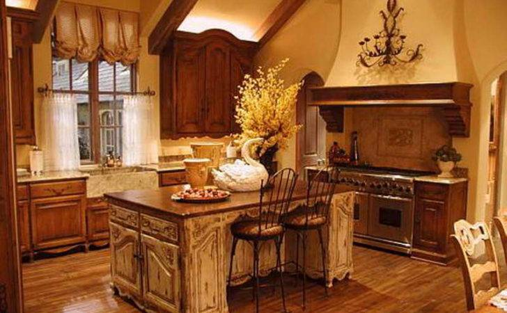 French Country Style Kitchens Home Interior Design