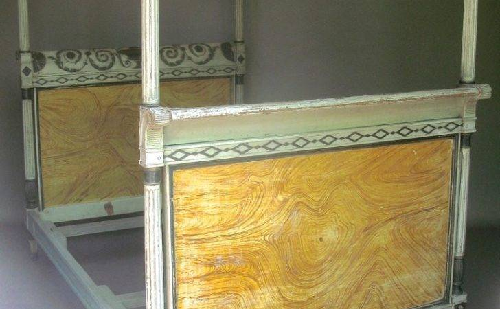 French Directoire Period Four Poster Bed France