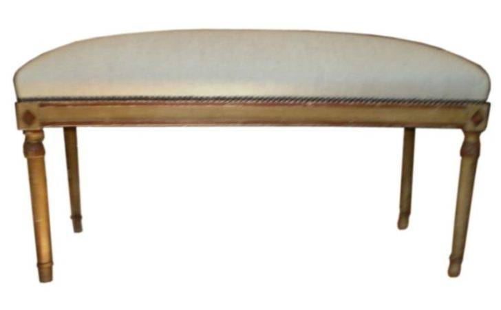 French Directoire Style Painted Banquette Bench Stdibs