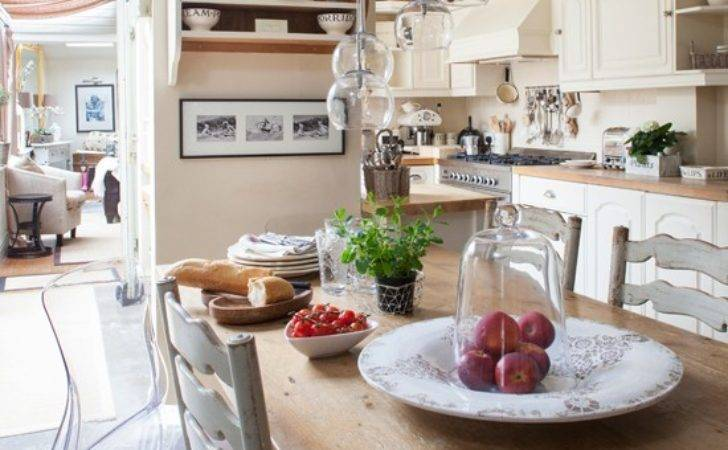 French Farmhouse Style Kitchen Diner Traditional