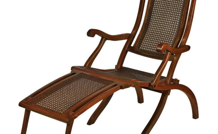 French Line Deck Chair Chairs Nautical Vintage