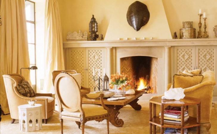 French Living Room Beautiful Homes Design
