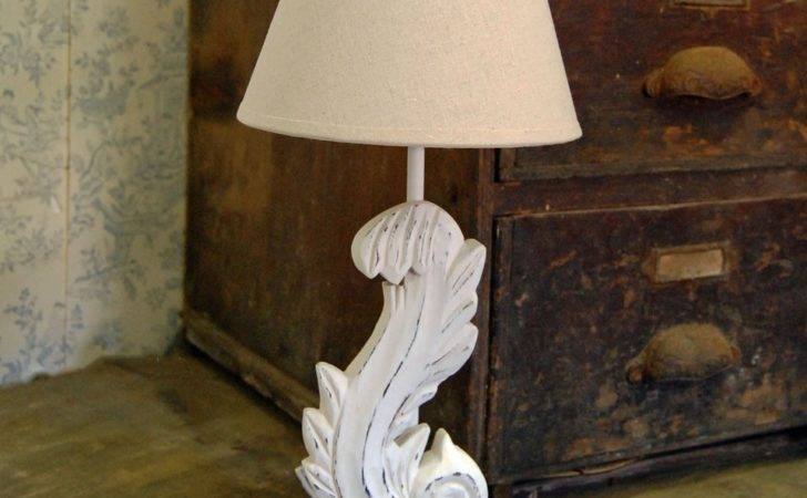 French Shabby Chic Table Lamp