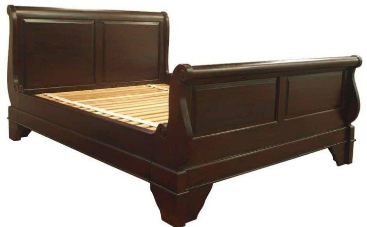 French Sleigh Bed Twin Panel Akd Furniture