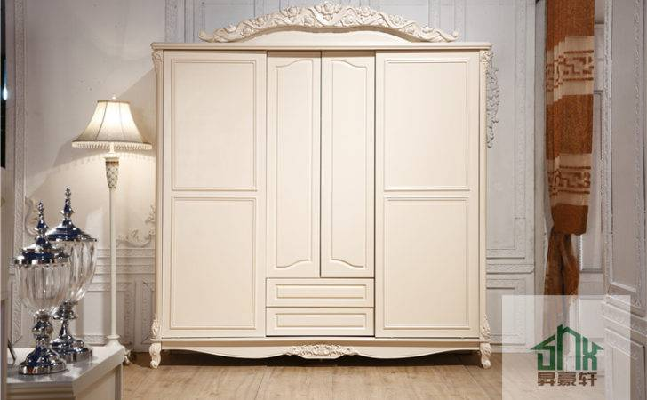 French Style Antique Bedroom Furniture Wooden