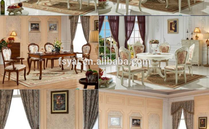 French Style Dining Room Classic Designs Heavy Duty