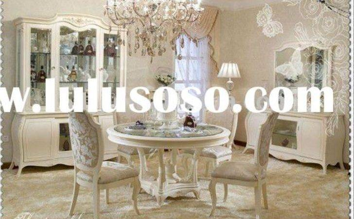 French Style Dining Table Chair