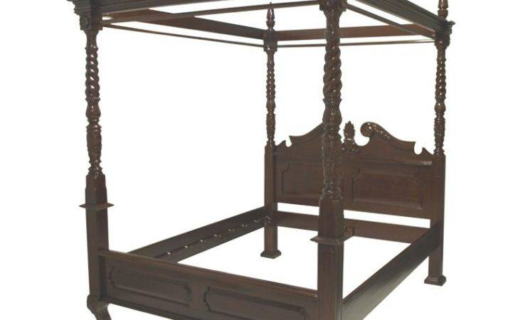 French Style Four Poster Canopy Bed Stdibs