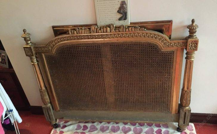 French Style Gilt Wood Single Bed Antiques Atlas
