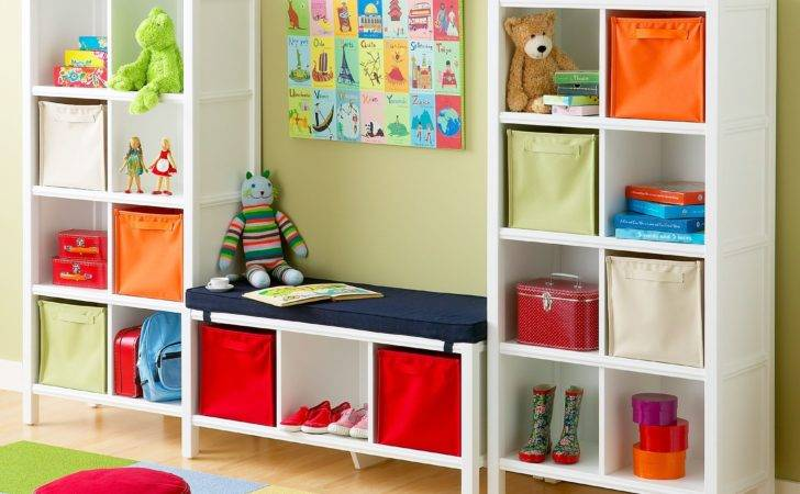 Friendly Storage Colorful Kids Rooms